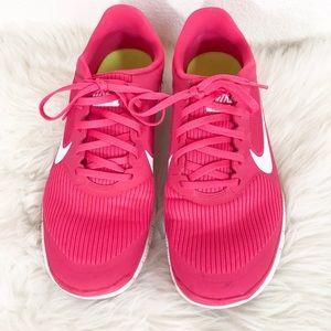 Nike Free 4.0 Hot Pink Sneakers